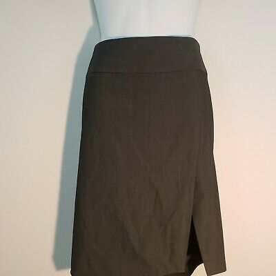 e5e010c132 EXPRESS DESIGN STUDIO Pencil Skirt Size 2 Gray Grey Lined Career Business  Pocket