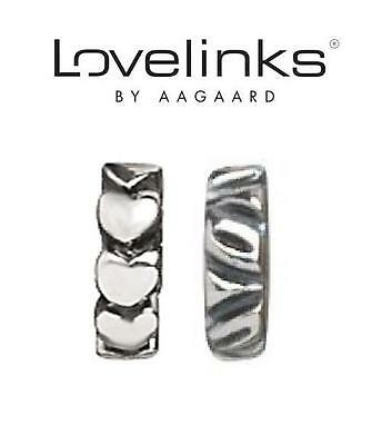 Lovelinks 1180984 Silver Pair of Sea Lions Charm Link