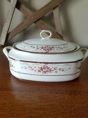 """Vintage Noritake """"BRENTLY"""" Covered Casserole Dish"""