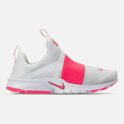 c47c7935ff NIKE PRESTO EXTREME GS Girl's Youth Black/Racer Pink RUNNING Sz 4Y ...