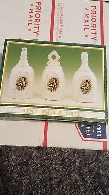 3pc Jade Bell Set. Large bells