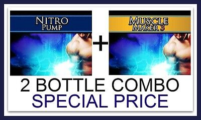 Nitric Oxide NO Pills Extreme Muscle Builder Bodybuilding Ripped 6 Pack Abs #2
