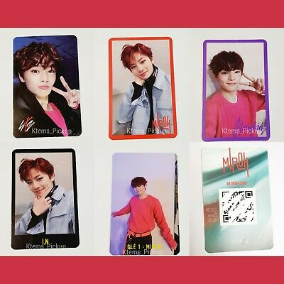 Stray Kids photocard album Cle Miroh Official Photo card : I.N IN JeongIn