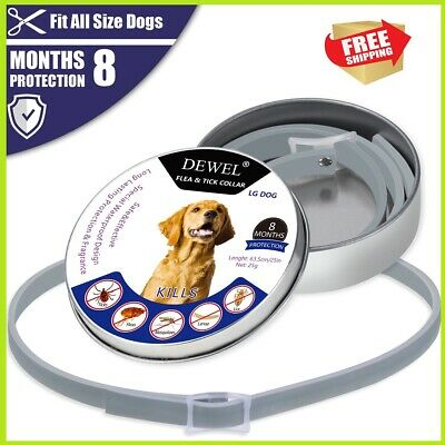 DEWEL DOGS soresto Flea and Tick Collar for Large Dogs 8 Month Protection 63cm
