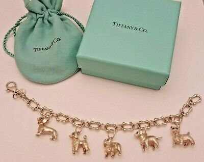 a24caeaac RARE TIFFANY & Co. Dog Necklace Scottie Terrier Dog SV Silver 925 16 ...