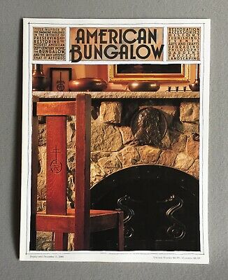 American Bungalow Magazine No 27 Fall, 2000 Arts & Crafts Good Condition