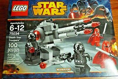 Lego Star Clone Wars 75034 DEATH STAR TROOPERS Battle Pack Royal Guard Figs NEW!