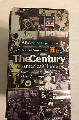 6 NEW SEALED The Century Americas Time Abc News History
