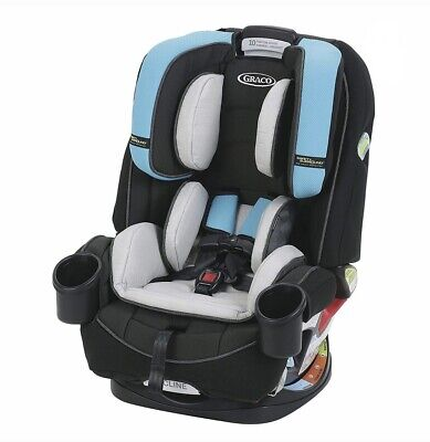 Graco 4Ever Safety Surround Side Impact 4 in 1 Convertible Child Car Seat, Bryce