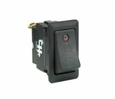 54110 01BX NEW Cole Hersee Co SPDT 12V On//Off Red Illuminated Toggle Switch