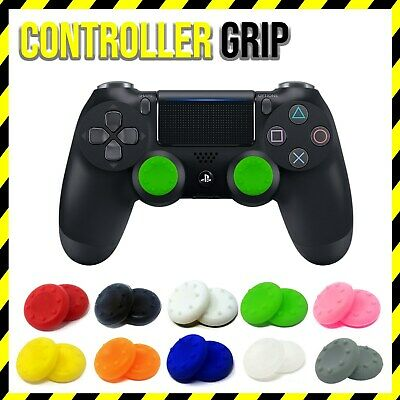 NEW Pair Controller Thumb Dotted Rubber Cover Grip PS4 PS3 XBOX ONE BUY 2 GET 3