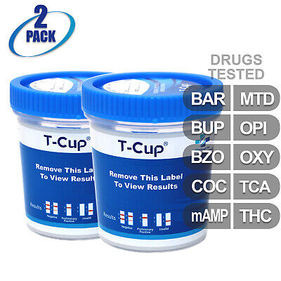 25 PACK 12 Panel T Cup Urine Analysis Drug Cup Clia Waved
