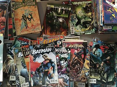 HUGE Lot of 50 DC MARVEL & INDEPENDENT Comic Books Modern-Copper Age Comics
