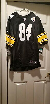 80ab5e32fd6 ANTONIO BROWN PITTSBURGH Steelers Nike Toddler Game Jersey - Black ...