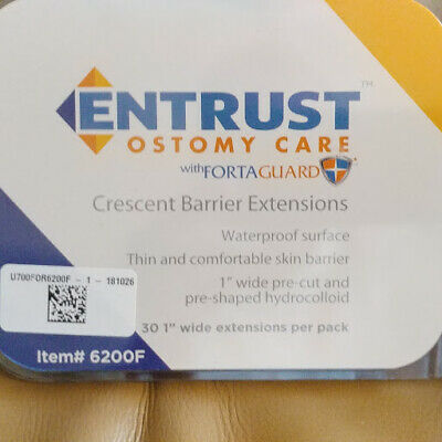 Entrust Ostomy Care Crescent Barrier Extensions Item 6200F