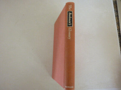 The Bookman's Glossary - by Mary C. Turner  VINTAGE AND RARE- NICE!
