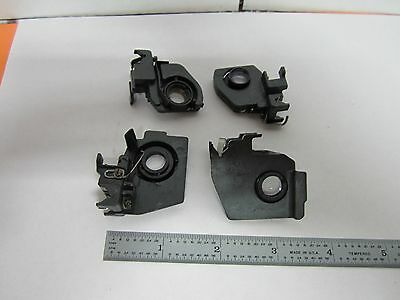 Microscope Part Lot 4 Ea  Stereo Lens Bausch Lomb  Optics As Is Bin#K7-15