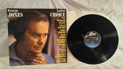 Vinyl LP Record Album George Jones Ladies Choice 1984 Promo
