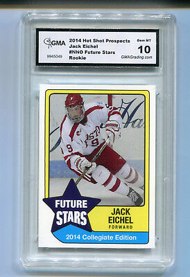 2014 Jack Eichel Future Stars Prospects Rookie Gem Mint 10