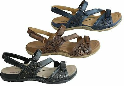 c9d6e5500 NEW EARTH SUNBEAM Womens Comfortable Leather Flat Sandals With ...