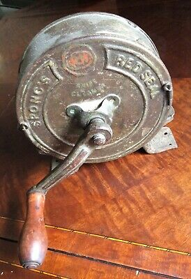 Antique Victorian Rotary Knife Cleaner/Polisher