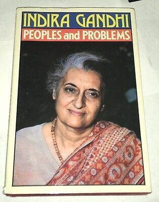 People and Problems Indira Gandhi 1982 First Edition Indian Edition