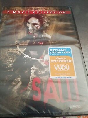 SAW: THE COMPLETE Movie Collection (DVD, 2014, 4-Disc Set