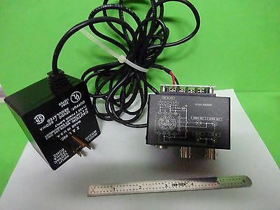 Microscope Part Camera Power Supply Signal Conditioning Optics As Is Bin#W3-45