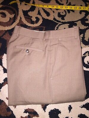 d6af031bf4a1a Emporio Armani Josh Line Flax Linen Pants in Dark Khaki IT 46 US 31 $495  Italy
