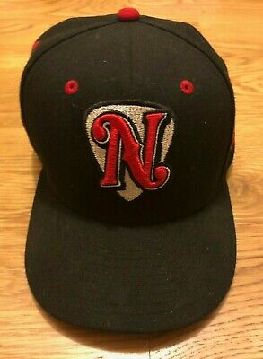 promo code 5657d b7d3b New Era 59fifty Nashville Sounds Fitted Hat Cap Size 7 3 8 Black Excellent  Cond