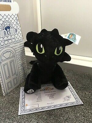 Build A Bear Workshop How To Train Your Dragon Toothless Brand New