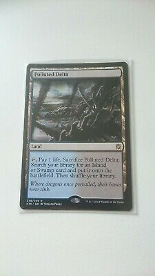 Get 1 Free Bonus Foil Rare Guitars & Basses 1 Polluted Delta Khans Of Tarkir Ktk Magic Mtg Nm Acoustic Electric Guitars