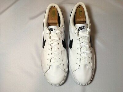 official photos 3517d 5aae5 Nike 631656 Mens Match Supreme Leather Casual Tennis Shoes Sneakers Sz 14  EUC