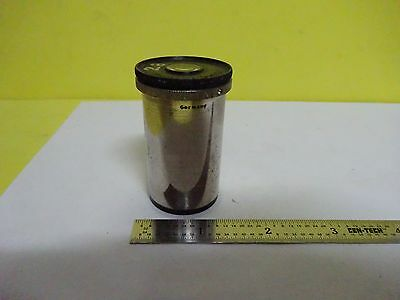 MICROSCOPE PART LARGE EYEPIECE LEITZ WETZLAR GERMANY a5 OPTICS BIN#X5-12
