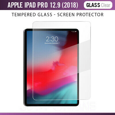 100% Premium Tempered Glass Film Screen Protector For Apple iPad Pro 12.9 (2018)