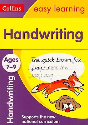 Collins Easy Learning Handwriting Ages 7-9 BRAND NEW BOOK (Paperback 2015)
