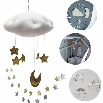 Baby Crib Netting Hangings Accessories Cloud Star Raindrop Cartoon Tent Decor