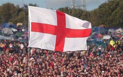 England Flag 5FT X 3FT St George Cross Flags English Eyelets Football Rugby