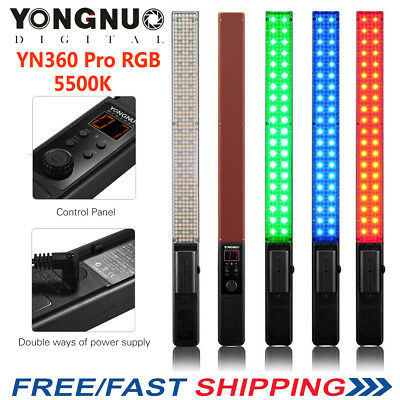 YONGNUO YN360 Pro LED Video Light Ice Light 5500K Color Temperature and RGB I0D3