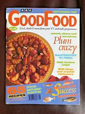 BBC Good Food Magazine, September 1991, Plum Crazy, Masterchef '91 Final