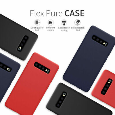 Liquid Silicone Rubber Case Protection Shockproof Cover For Samsung Galaxy S10 +