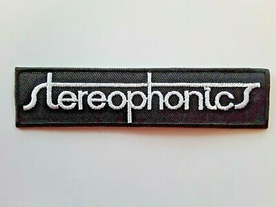 Stereophonics Welsh Alternative Rock Music Band Embroidered Patch Uk Seller