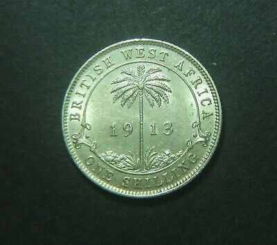 1913 West Africa One Shilling, 1/