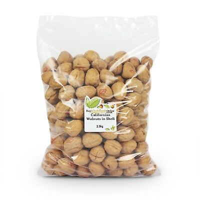 Walnuts Californian in Shell 2.5kg | Buy Whole Foods Online | Free UK P&P
