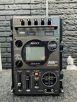 SONY FX300 Jackal  TV- FM/AM Receiver cassette recorder