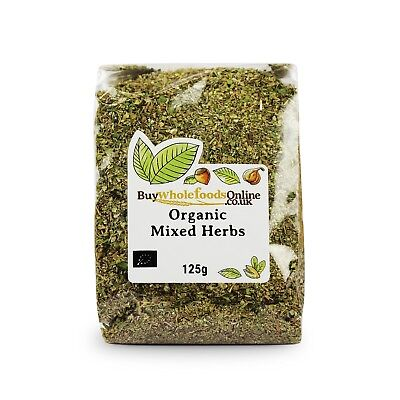 Organic Mixed Herbs 125g | Buy Whole Foods Online | Free UK P&P