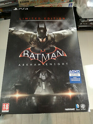 batman arkham knigh limited collector's edition collector ps4 playstation 4 ps 4