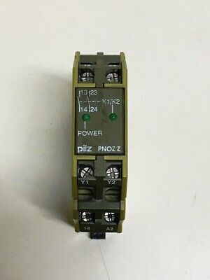 **USED**  Pilz PNOZ Z 2S , PNOZZ2S24VACDC2V Safety Stop Relay