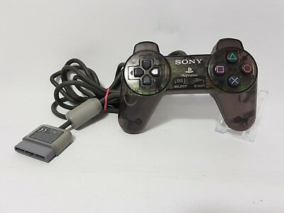 Official Sony Playstation 1 PS1 Clear Smoke Black SCPH-1080 Controller