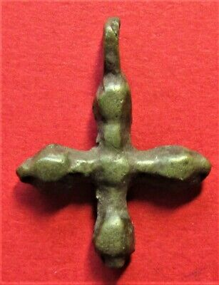 Ancient Bronze Cross! Kievan Rus'! XI-XII century